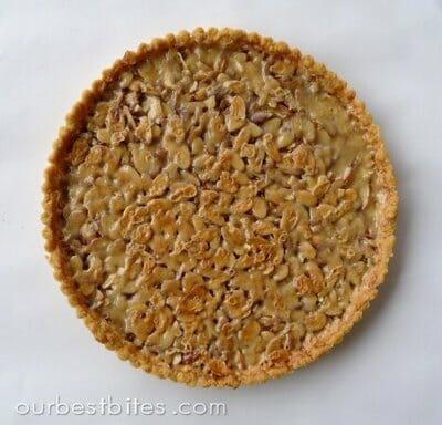 7 almond toffee torte