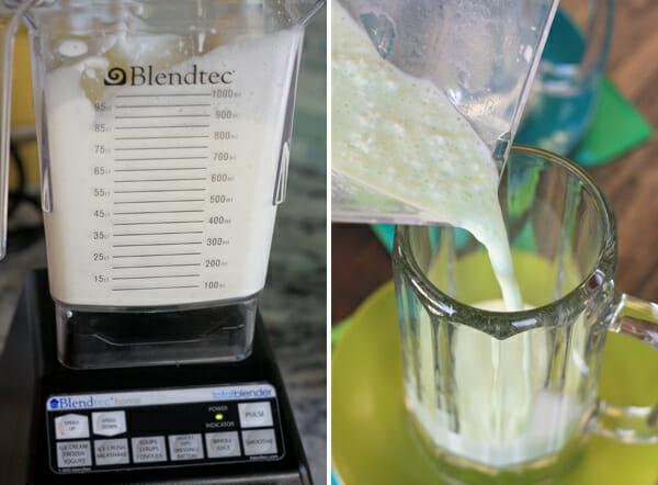 Blending Coconut Mixture