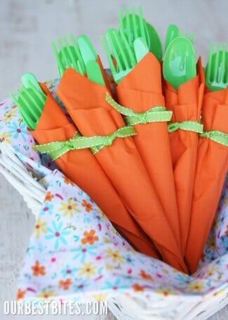 Carrot-Napkin-Bundles