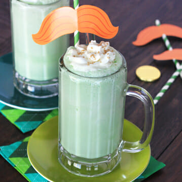 Creamy Coconut-Lime Floats