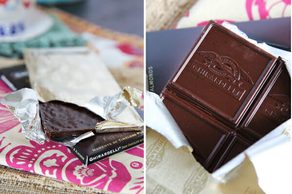 Opening Chocolate