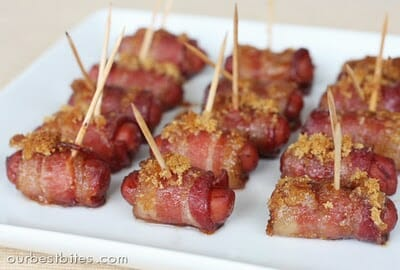 bacon-wrapped little smokies 2