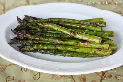 garlic balamic asparagus