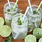 {Cafe Rio Copycat} Mint Limeade