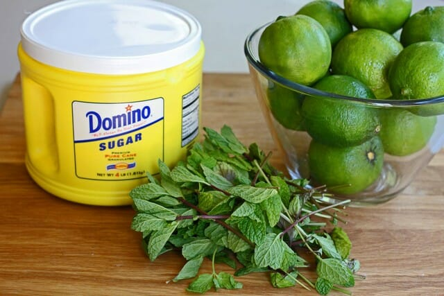 mint limeade ingredients