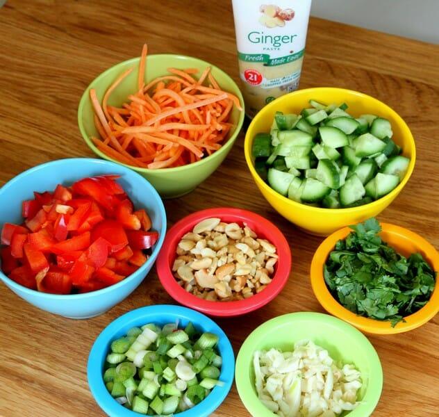 turkey lettuce wraps ingredients