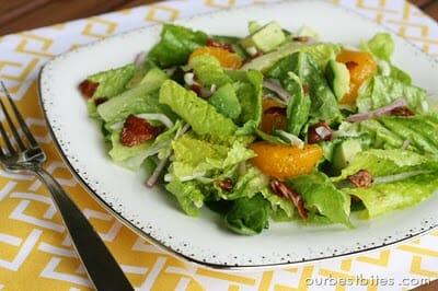 spinach mandarin poppyseed salad