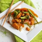 Sweet & Sour Citrus Chicken Stir-Fry