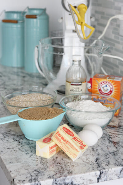 1 Peanut Butter Cookie Ingredients
