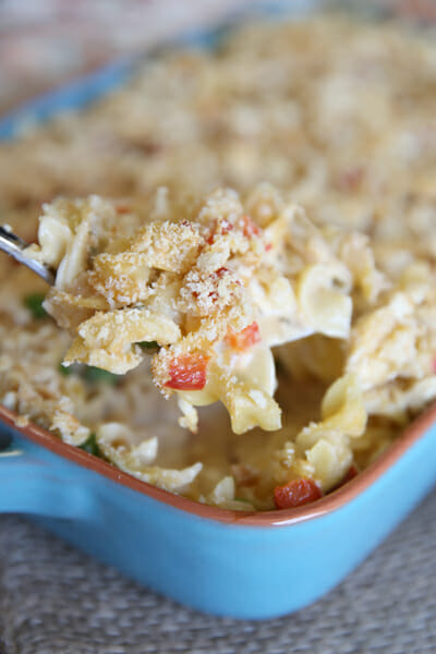 Cheesy Chicken Noodle Casserole from Our Best Bites
