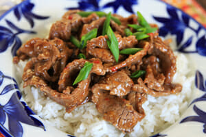 Easy Chinese Orange Beef