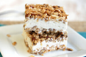 Easy Ice Cream Crunch Bars