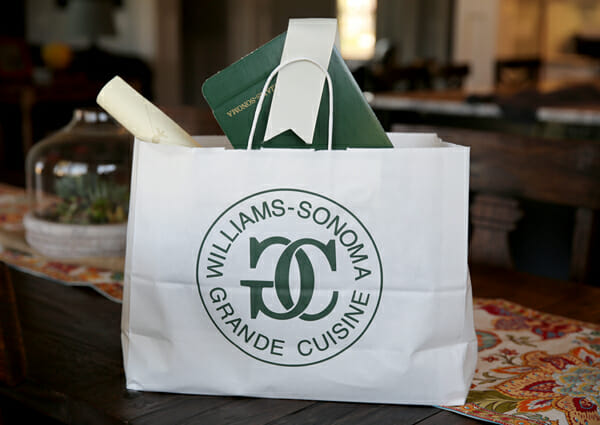 Williams Sonoma bag