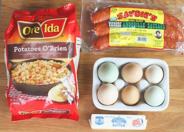 cajun hashbrown ingredients