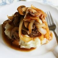small square hamburger steak1