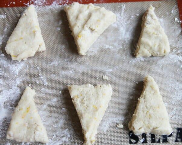 unbaked shortcakes