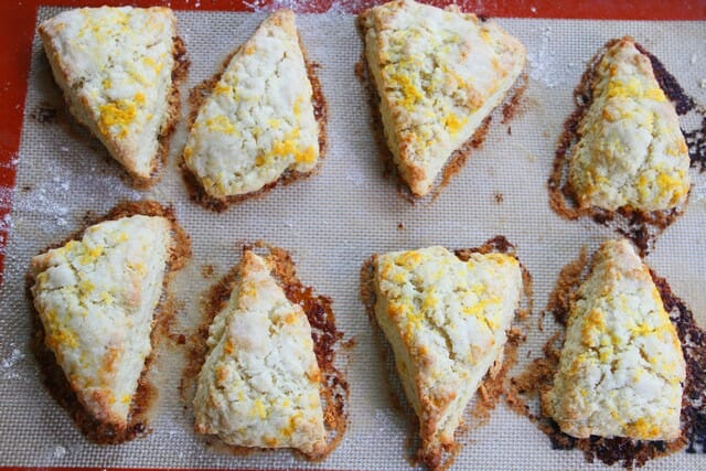 baked lemon shortcakes