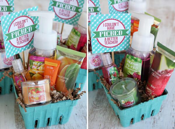 Berry Baskets for Teacher Appreciation & Teacher Appreciation! | Our Best Bites