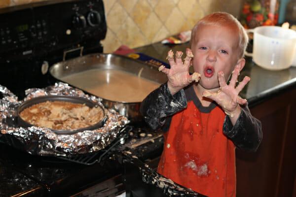 Cheesecake disaster