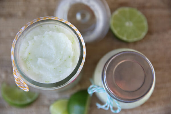 Coconut Lime Sugar Scrub for super soft skin