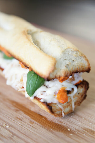 Italian Roasted Pepper Sandwich