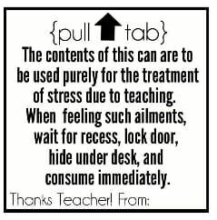 Tag for Teacher Appreciation