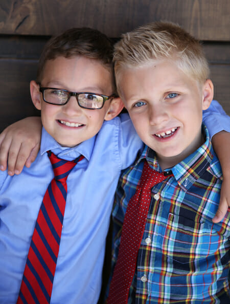 C and T in Ties