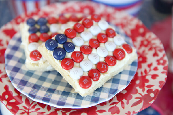 Easy American Flag Cookies from Our Best Bitess