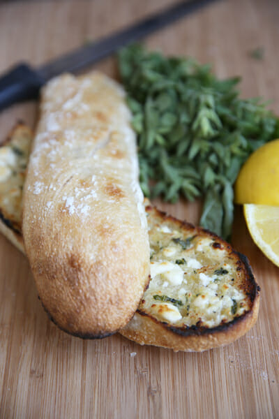 Feta Garlic Herb Butter
