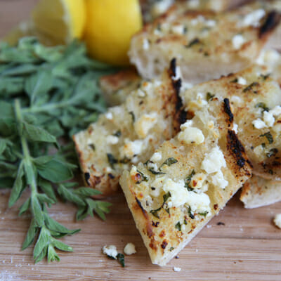 Herbed Garlic Butter with Feta and Lemon