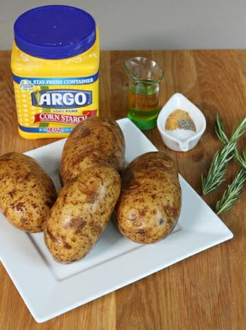 parmesan rosemary oven fries ingredients