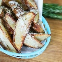 Oven-Baked Parmesan Rosemary Fries