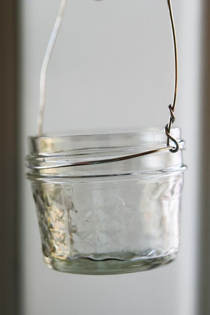 jar lantern with handle
