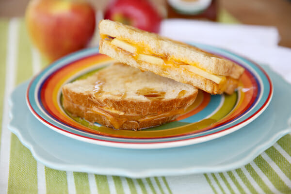 Apple Cinnamon Grilled Panini from Our Best Bites