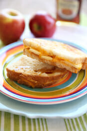 Apple Grilled Cheese from Our Best Bites