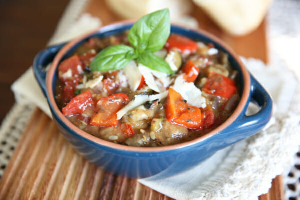 Perfect Summer Garden meal-Slow Cooker Ratatouille from Our Best Bites