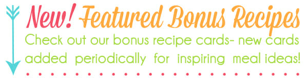 Featured Recipes Graphic