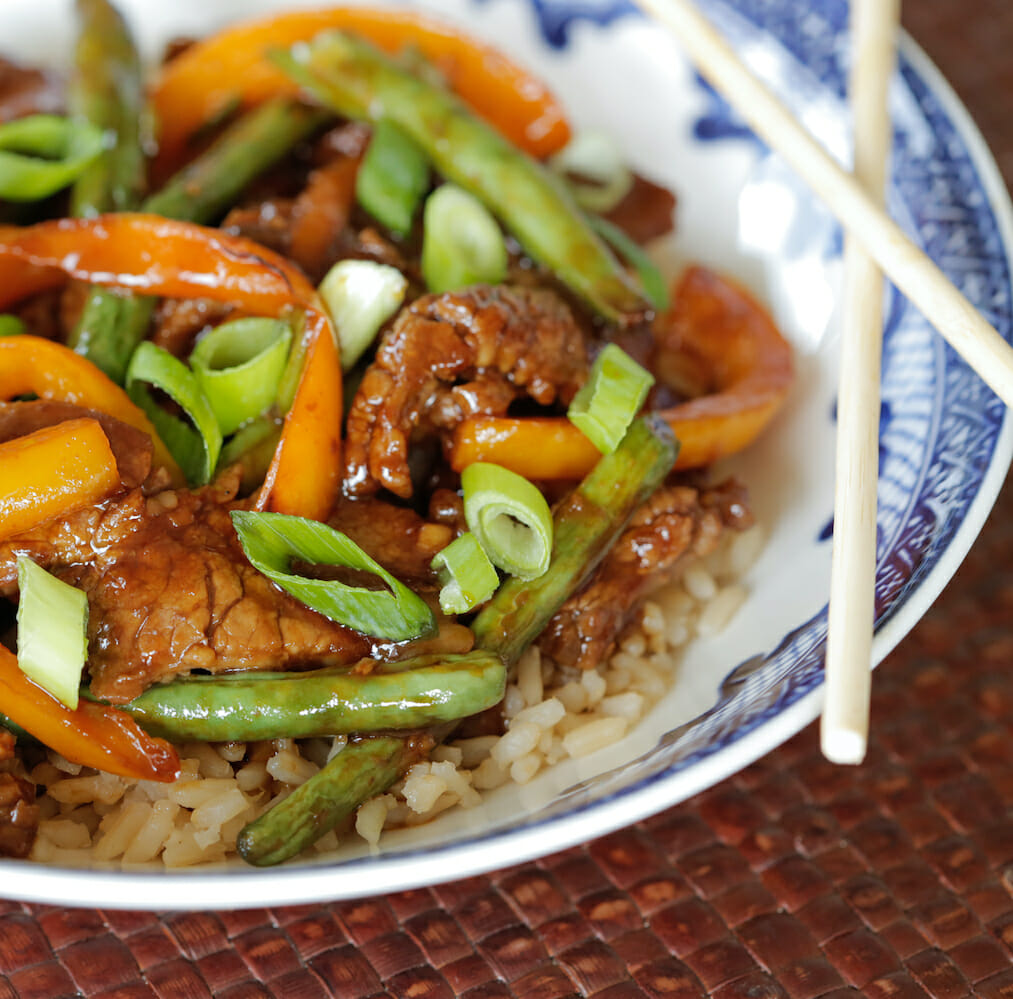 Beef & Green Bean Stir-Fry