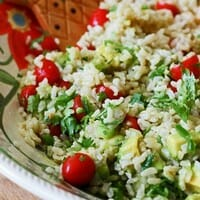 Southwestern Brown Rice Salad