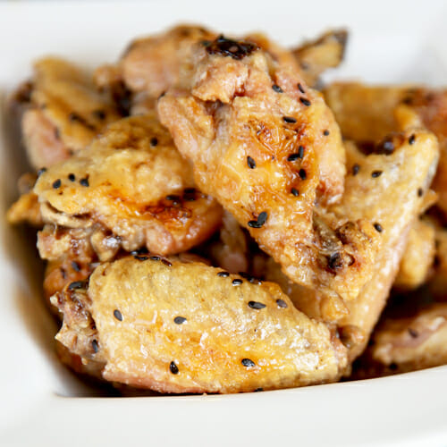 Crispy Oven Baked Chicken Wings - Our Best Bites