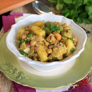 Curried Cashew Quinoa Salad