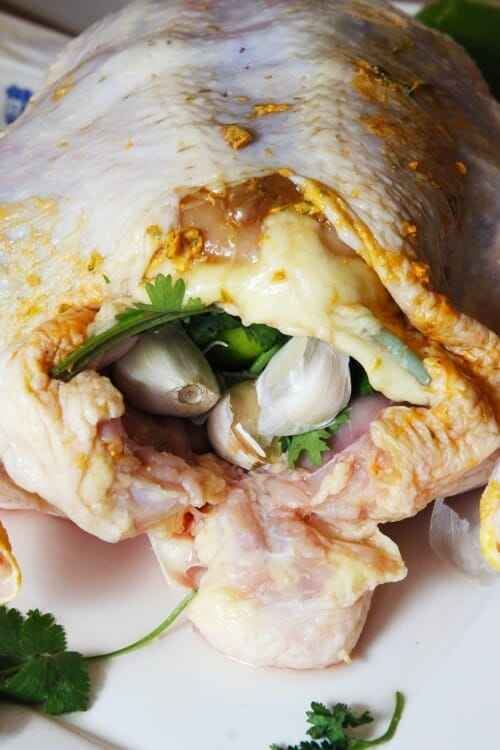 stuffed chicken from Our Best Bites