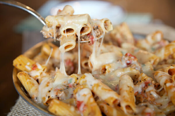 Cheesy Baked Ziti from Our Best Bites