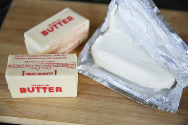 Cream Cheese and Butter