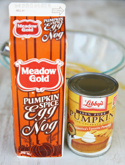 Egg Nog and Pumpkin