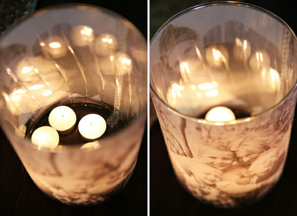 Glowing Luminaries with Candles