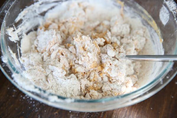 Mixing Scone Dough