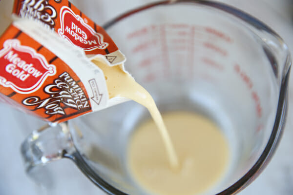 Pouring Egg Nog