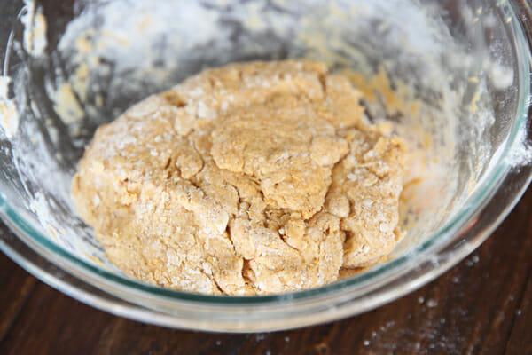 Pumpkin Scone Dough