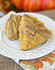 Pumpkin Spice Scones from Our Best Bites intro copy